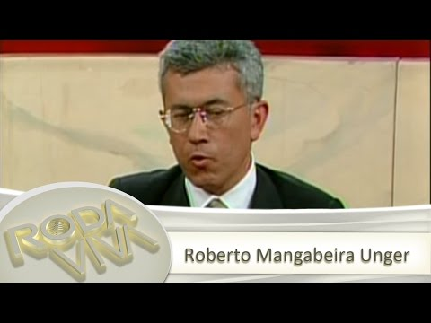 Roda Viva   Roberto Mangabeira Unger   26/04/1993