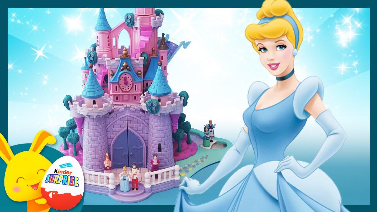 cendrillon le chateau le jouet polly pocket et l 39 histoire pour les enfants touni toys. Black Bedroom Furniture Sets. Home Design Ideas