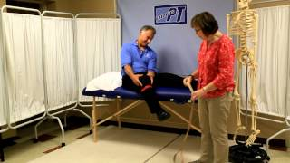 How to Use a Leg Lifter After Knee Replacement or Hip Replacement