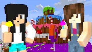 Minecraft Lucky Block - CORRIDA NOS DOCES