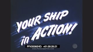 Your Ship in Action - Color, U.S. Navy Heavy Cruiser in the Pacific, World War II 20360 HD