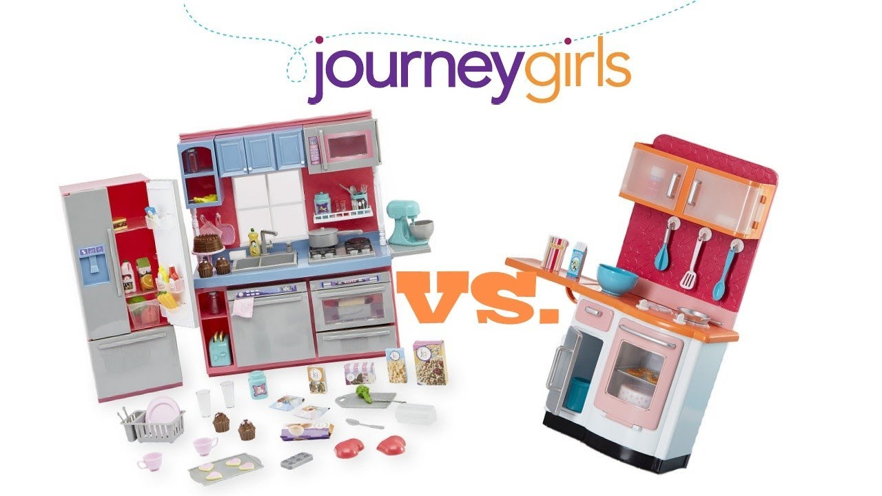 New journey girls gourmet kitchen set unboxing and for Girls kitchen set