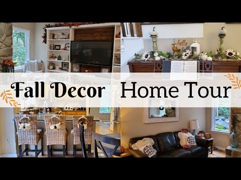 Fall Decor 2019 Home Tour // Fall Decorating Ideas //Modern Farmhouse Decor