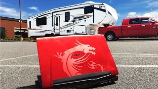 Video Accidentally Crushed My $4,500 MSI Laptop with a 15,000 lb RV! Unexpected result!! download MP3, 3GP, MP4, WEBM, AVI, FLV Oktober 2018