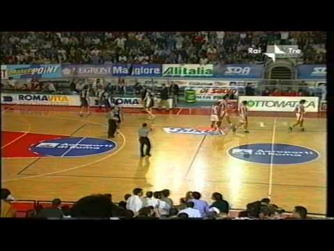 2001 Adr Roma vs Paf Fortitudo Bologna r.s. (2nd half)