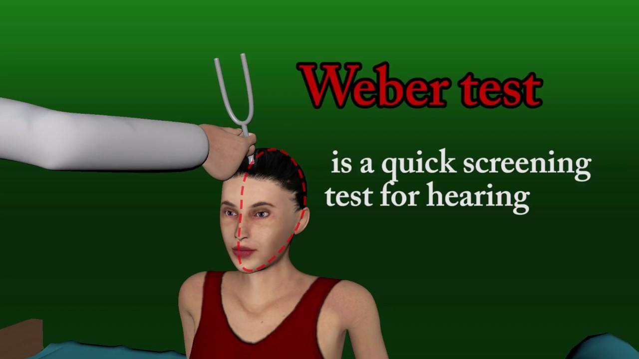 weber hearing test