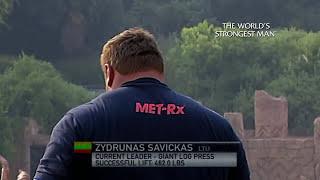 The World's Strongest Man Classics 2010: Savickas and Koklyaev – The Giant's Duel