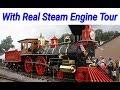 How steam locomotive work | Real steam engine tour