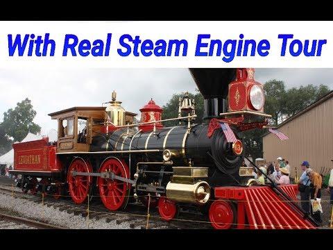 steam locomotive work real steam engine  youtube