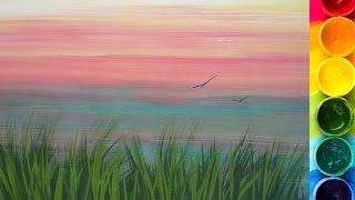 КАК нарисовать ТРАВУ гуашью(В помощь начинающим художникам урок про рисование травы. Подписывайтесь на канал, чтобы не пропустить..., 2015-09-29T20:59:57.000Z)