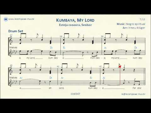 Kumbaya, My Lord - ( Drum Set ) - YouTube