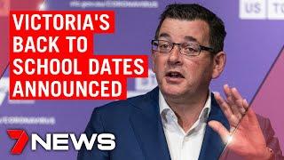 Coronavirus: Daniel Andrews reveals Victoria's school plan