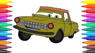 How To Drawing Cars Rusty Rust eze Coloring Pages How To Paint Rusty Rust eze Funny Coloring Book
