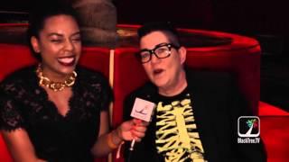 Lea DeLaria from OITNB talks Diversity and Dikes at SAG Awards