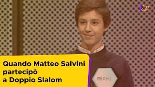 Quando Matteo Salvini partecipò a Doppio Slalom