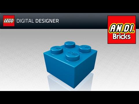 [GUIDA] LEGO digital designer (LDD) - Introduzione, cos'è e come funziona!