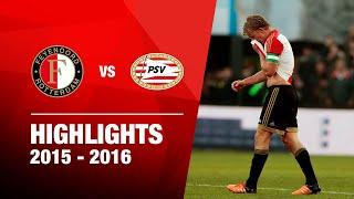 Samenvatting Feyenoord - PSV 2015-2016