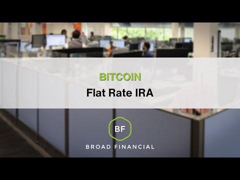 Bitcoin Flat Rate IRA