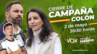 CIERRE CAMPAÑA VOX COLÓN