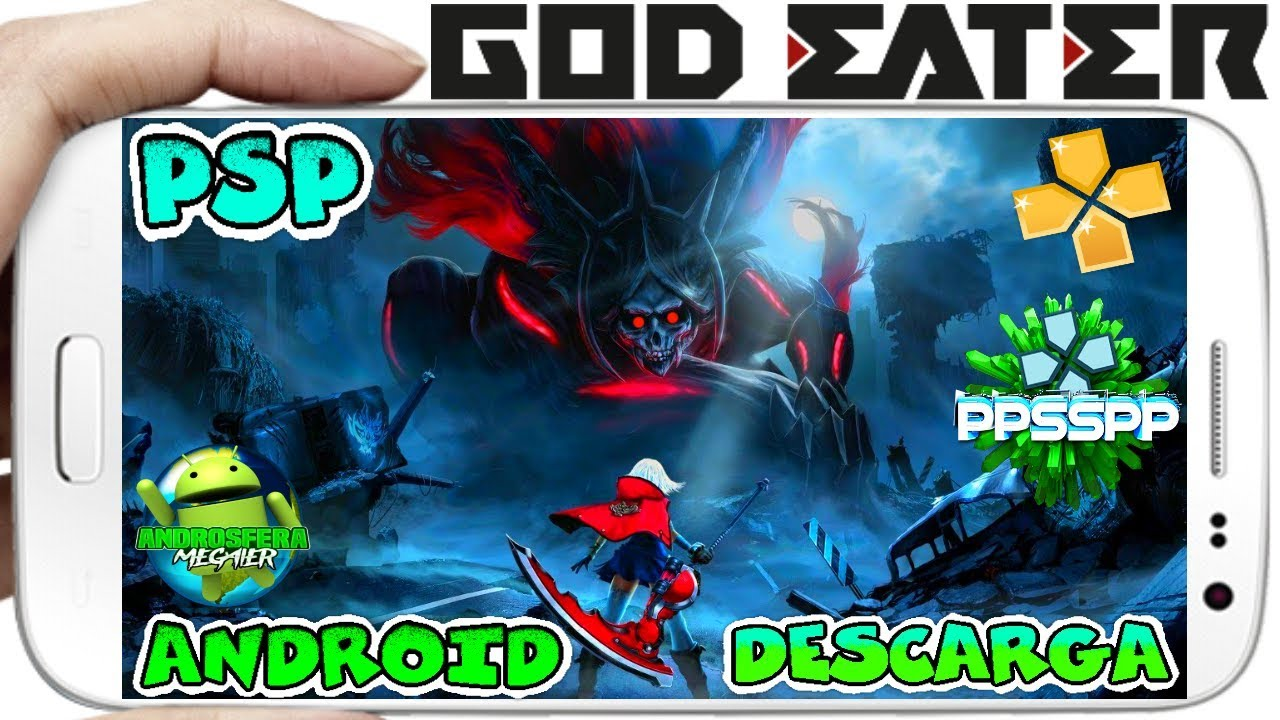 Descarga Increible Juego God Eater Psp Game Rpg Para Android Ppsspp