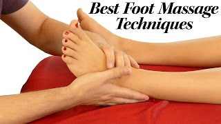 HD Foot Massage Tutorial for Pain Relief, Relaxing Music, How to Massage Feet, 60 fps, Techniques