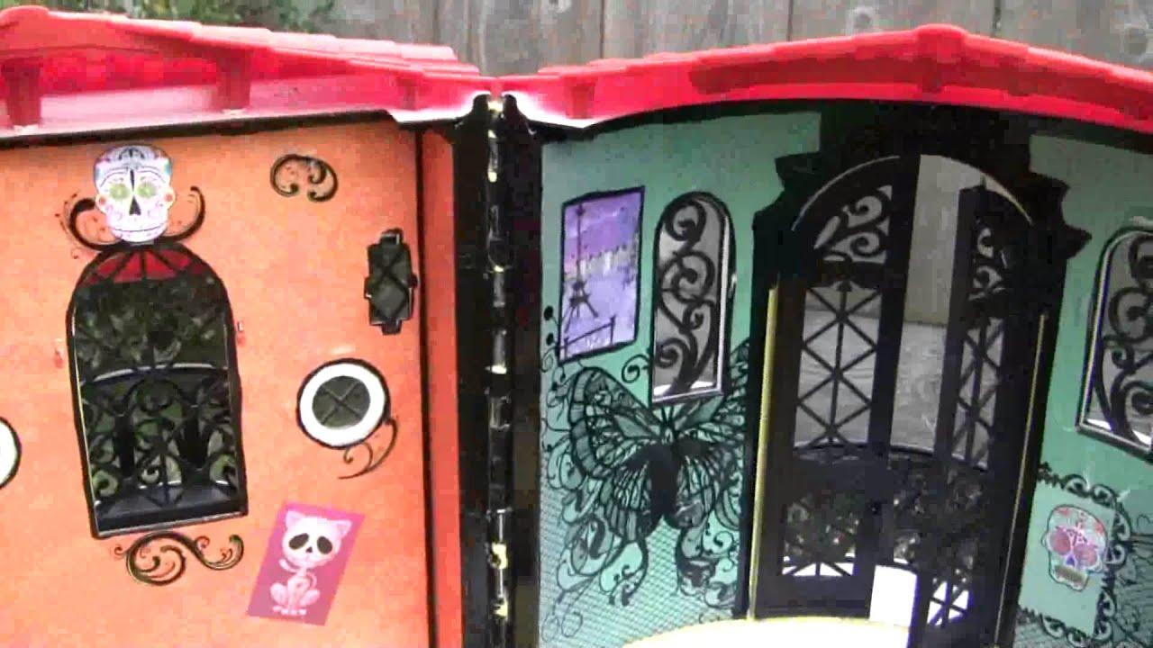 Monster High Doll House Custom OOAK Skelita Calaveras