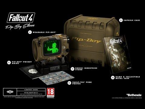 Fallout 4 - о коллекционном издании Pip Boy Edition - YouTube