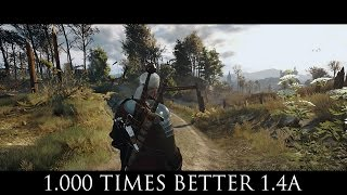 The Witcher 3 Mods - 1.000 Times Better v1.4.A SweetFX