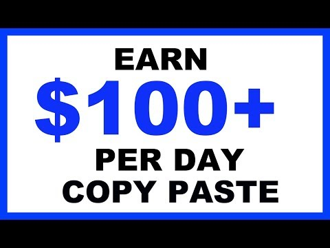 Earn $100-$2000 A Day With Copy And Paste Programs Using A Google Twist
