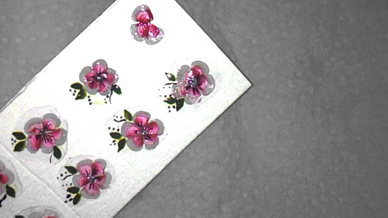 Flor De Carga Dupla Adesivo Na Caixa De Leite Youtube