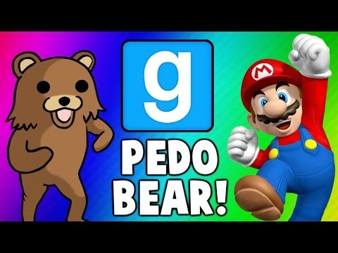 Thumbnail: Gmod Escape PedoBear - Super Mario Tryout Frustration (Garry's Mod Funny Moments & Fails)