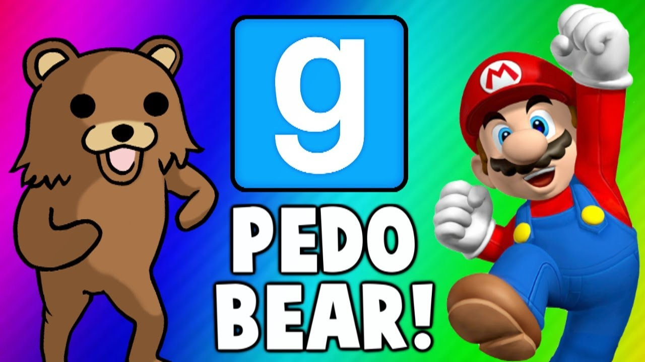 Gmod Escape PedoBear - Super Mario Tryout Frustration (Garry's Mod Funny Moments & Fails)