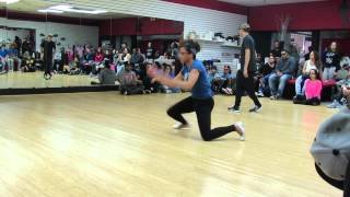 Terell Thomas & Buddha VS Bboy Rlo & partner @Circlefienz 2v2 Dance Compeition