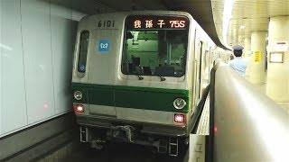 東京メトロ千代田線6000系6101F 75S我孫子行き 明治神宮前駅発車