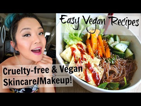 what-i-ate-on-a-hot-summer-day-(vegan-recipes-+-makeup)-//-vlog