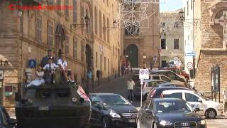 Osimo, matrimonio con carro armato