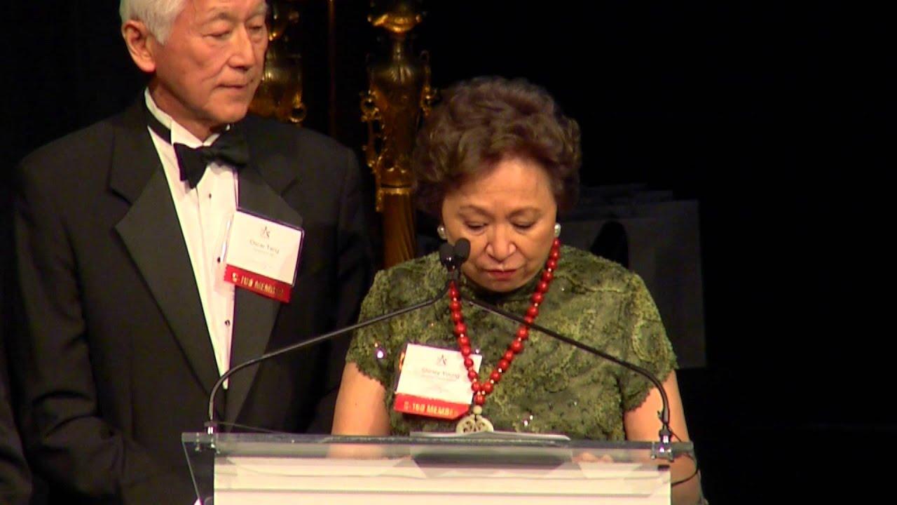 Honoring C-100 Co-Founders Shirley Young, Oscar Tang, Henry Tang, I.M. Pei, Yo-Yo Ma & C.S. Wu