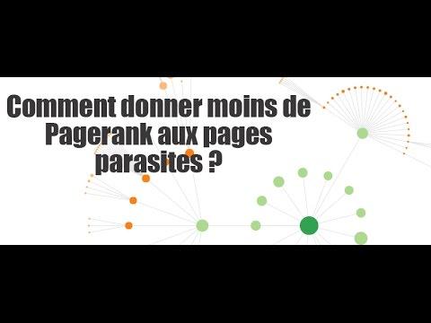 Comment donner moins de Pagerank à des pages inutiles en SEO ?