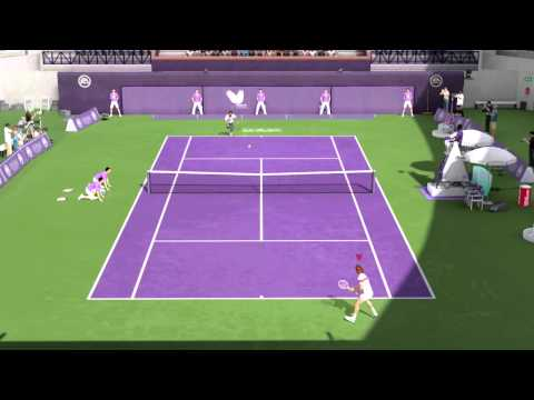 Grand Slam Tennis 2 John McEnroe vs Pete Sampras