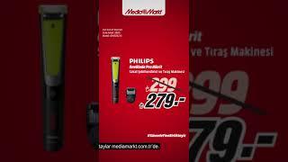 Tam Babalara Göre Hediyeler MediaMarkt'ta | Philips One Blade Tıraş Makinesi 279 TL