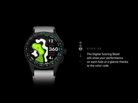 TAG Heuer Connected Watch Golf Edition - Scorecard