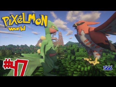 Pixelmon-world #47 พัฒนาร่างทั้ง 2 ตัว !!