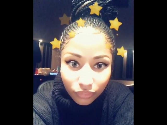 Nicki Minaj Plain Jane REMIX ft. A$AP Ferg - on Snapchat w/A$AP FERG