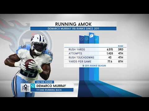 Titans RB DeMarco Murray on Sharing Carries with Derrick Henry   The Rich Eisen Show   8/17/17