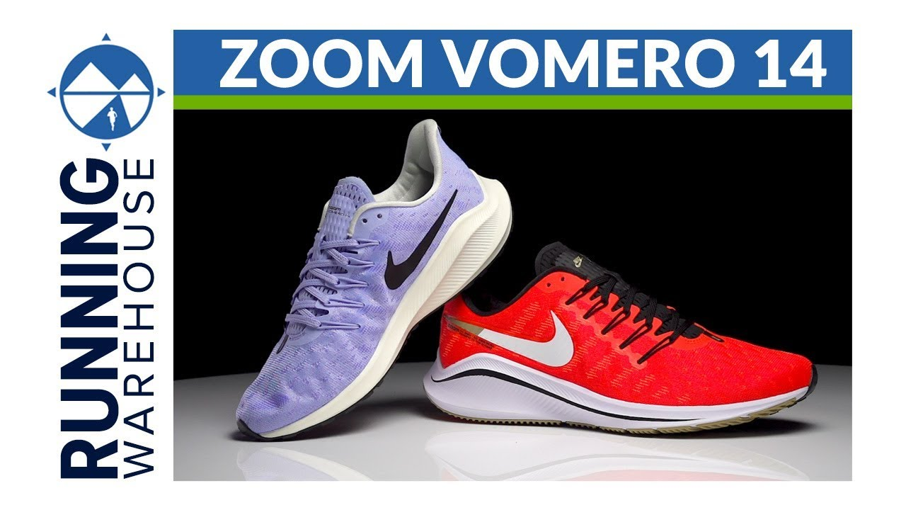 18a942f88c4 Nike Zoom Vomero 14 First Look Review - YouTube