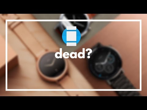 Are Android Wear Smartwatches, Dying?