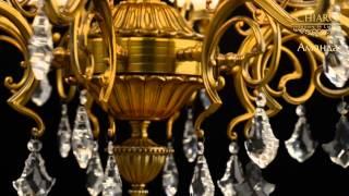 Люстры потолочные. Бронзовая люстра Аманда - классика и стиль!(Люстры потолочные в широком ассортименте тут: http://regenbogen.com/. Искусная проработка деталей, благородный дизай..., 2013-10-08T15:05:59.000Z)