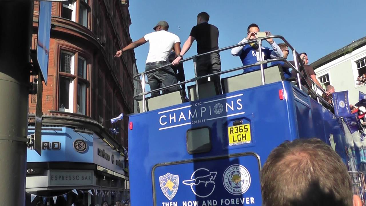 Download Leicester City Premiership Champions - The Celebrations in Leicester 16.5.16