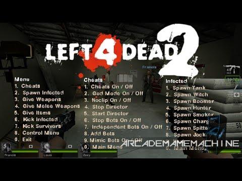 left 4 dead 2 pc cheats