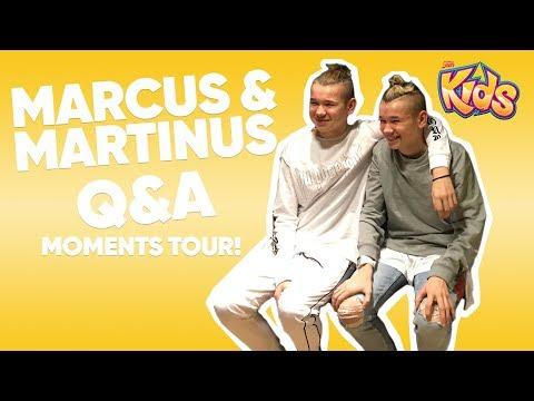Marcus & Martinus - Moments Tour Q&A | 14/1 2018 - Filtr Kids